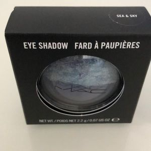 MAC duo eyeshadow -sea & sky